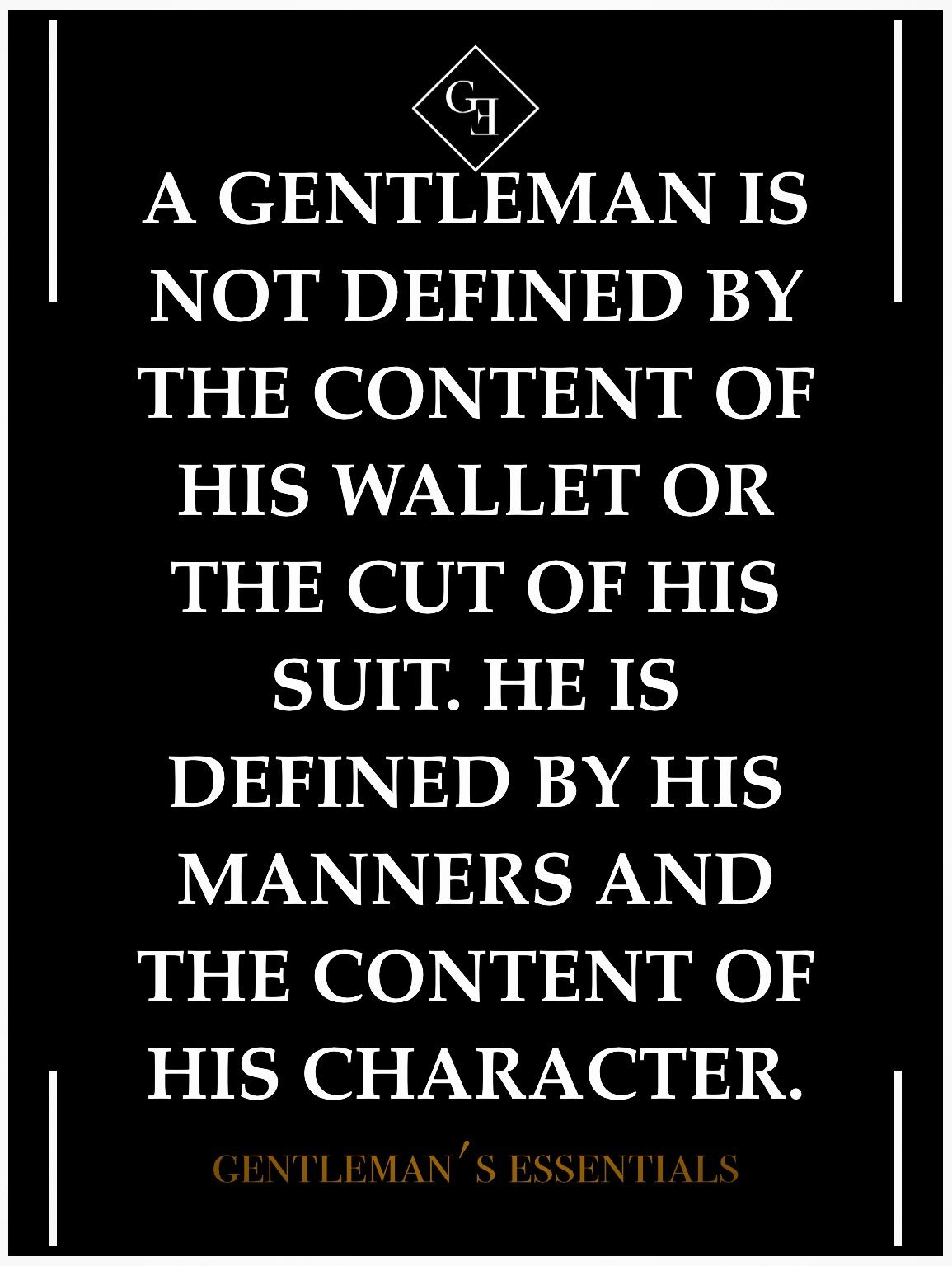 Definition of true chivalry according woman