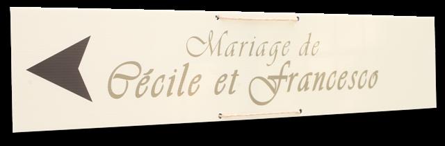 panneau signalisation mariage d co ext rieur pinterest panneau signalisation panneaux de. Black Bedroom Furniture Sets. Home Design Ideas