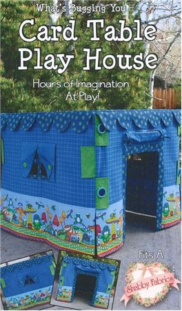 Whatu0027s Bugging You Card Table Playhouse: Create This Adorable Slipcover  That Turns Any Card Table