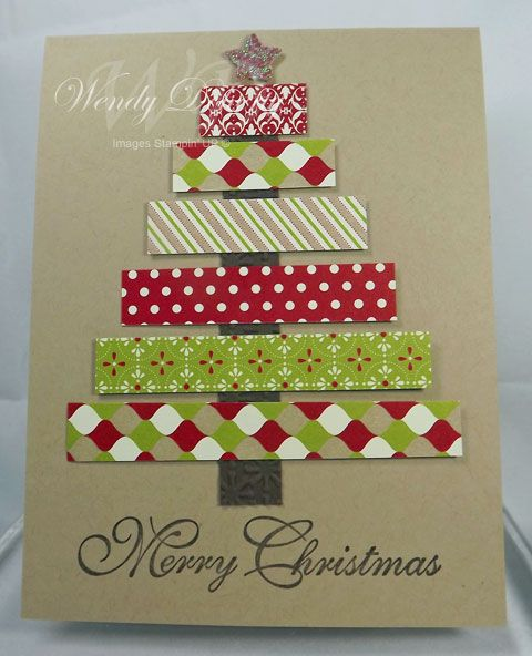 Scrap Art Tree Tarjetas creativas Pinterest Navidad, Tarjetas - tarjetas creativas