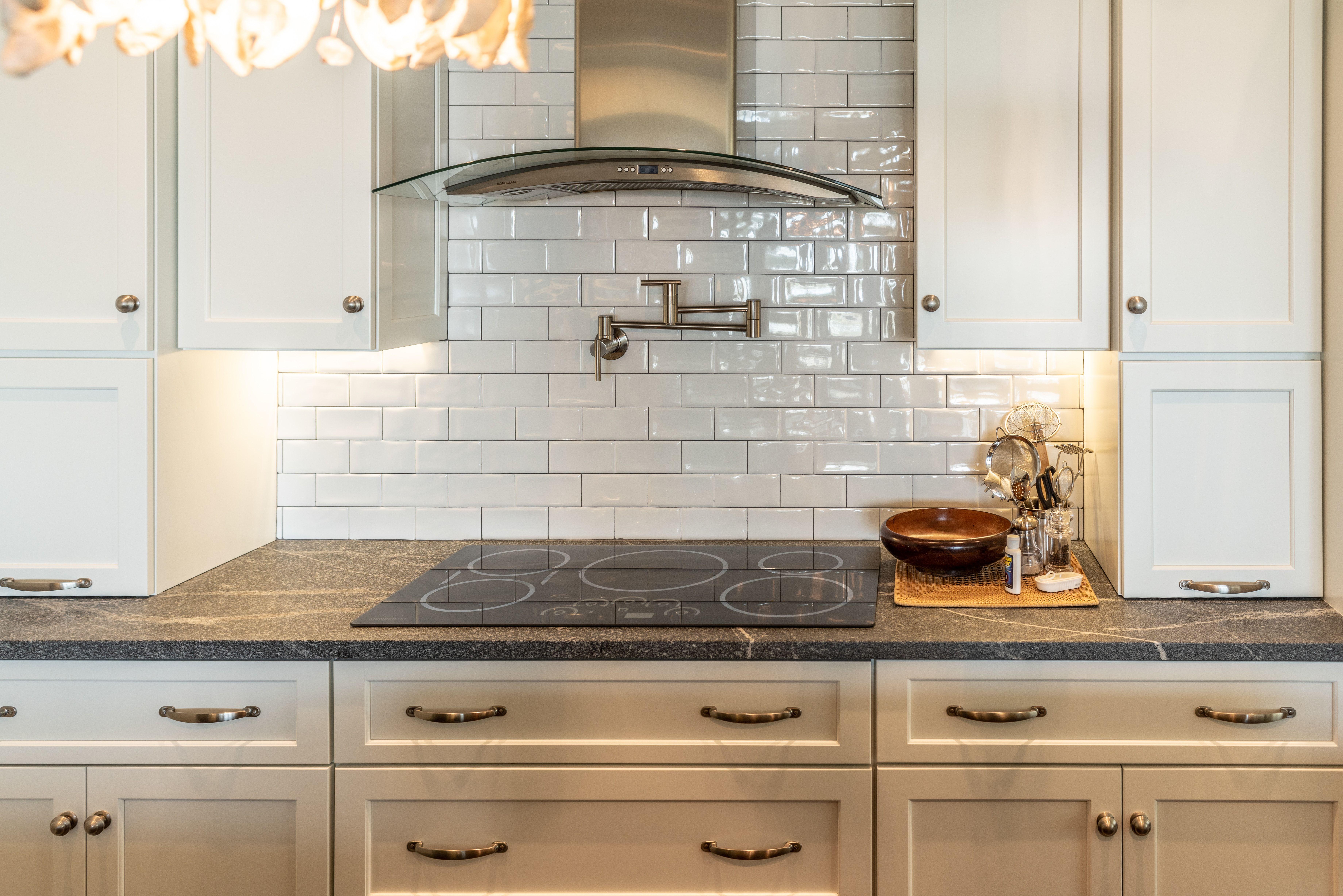 - We Love The Use Of Glazed Ceramic Subway Tiles As A Backsplash In