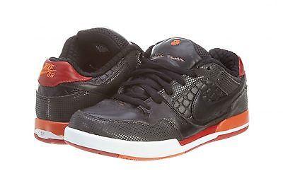 on sale 1e59d 56975 Nike SB Fuji Rod Hiroshi Fujiwara Mens 318359-061 Black Red Skate Shoes  Size 8