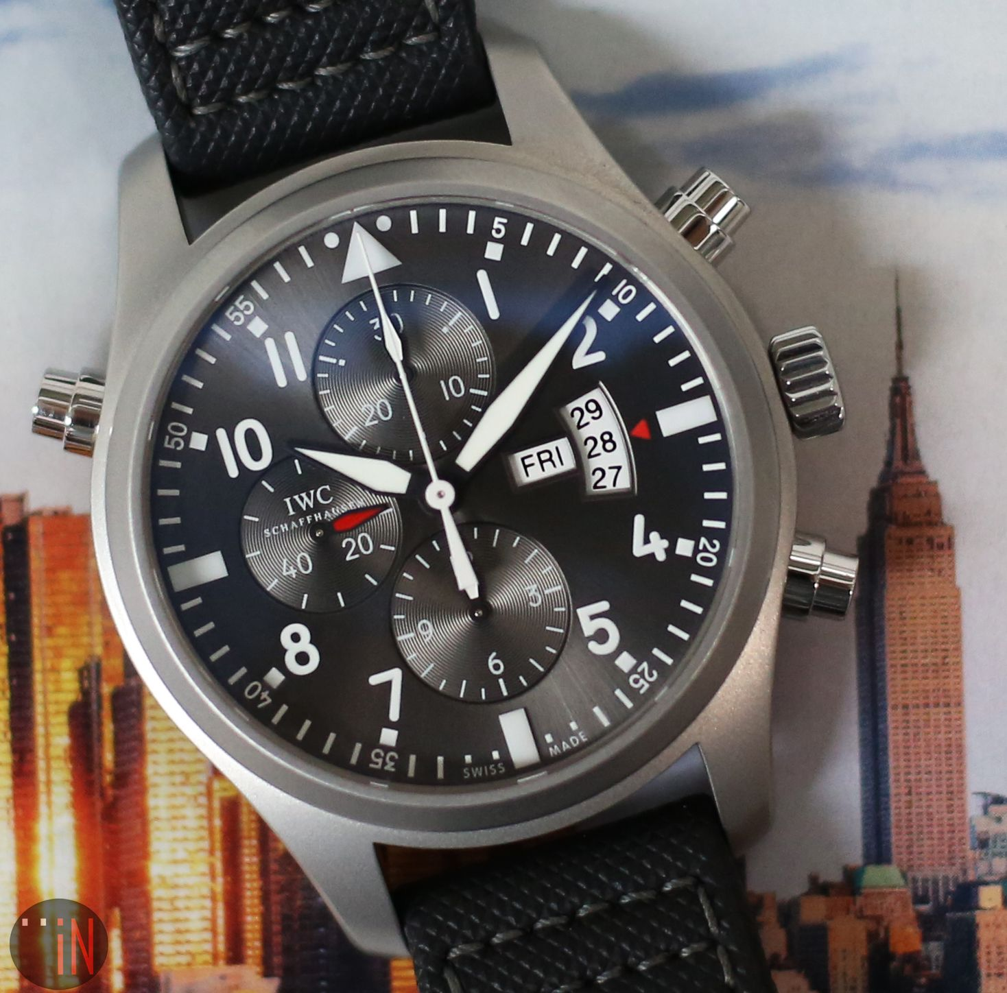 Pin by Element iN Time Watches on IWC Watches | Iwc pilot