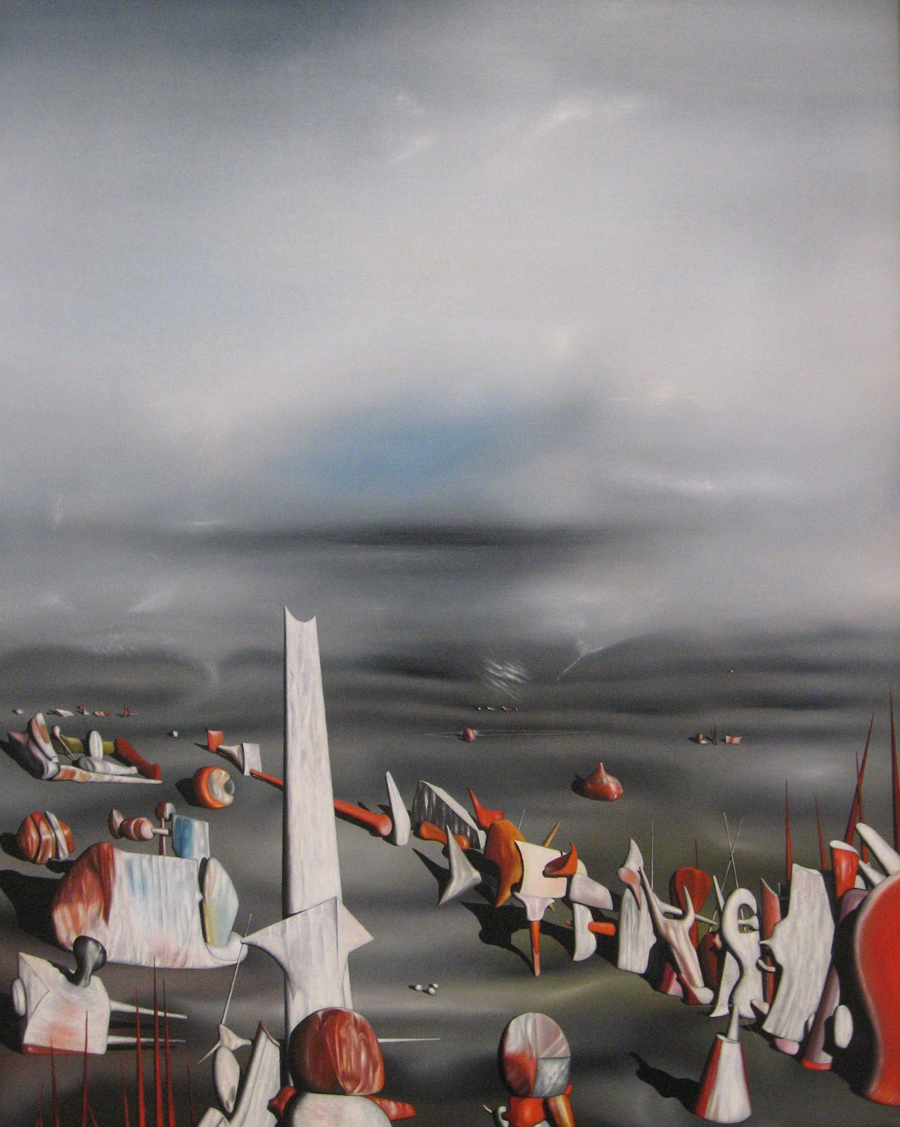 Yves Tanguy (American, b.France), The Rapidity of Sleep