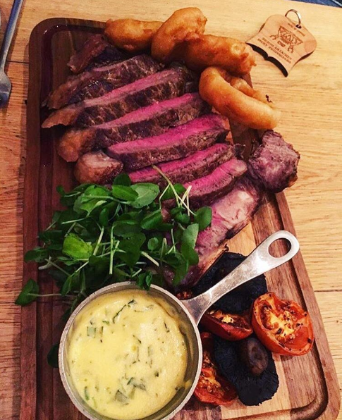 Steak Nights at the Devonshire Arms Hotel & Spa are always unforgettable! Thank you for sharing on Instagram, @annakrawlings #DevonshireArms #Yorkshire #YorkshireDales #hotel #restaurant #steak #steaknight #food #foodie #BoltonAbbey #localproduce #locallysourced