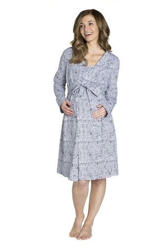 e2ee647503 Harper Robe - matches the Harper Nuring Nightgown