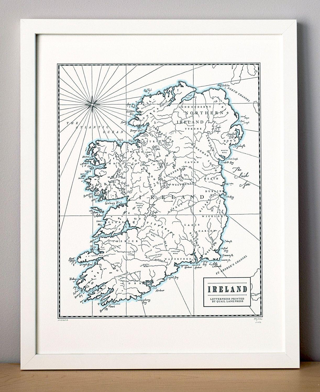 Best of Etsy: Quail Lane Press | Artwork | Letterpress ...