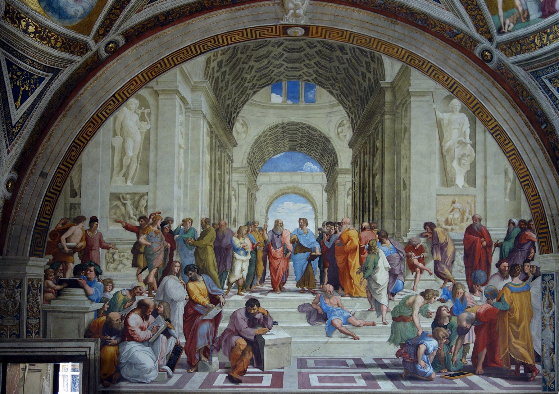 Raphael The School Of Athens And Disputa 1508 11Kahn Academy Italian Renaissance