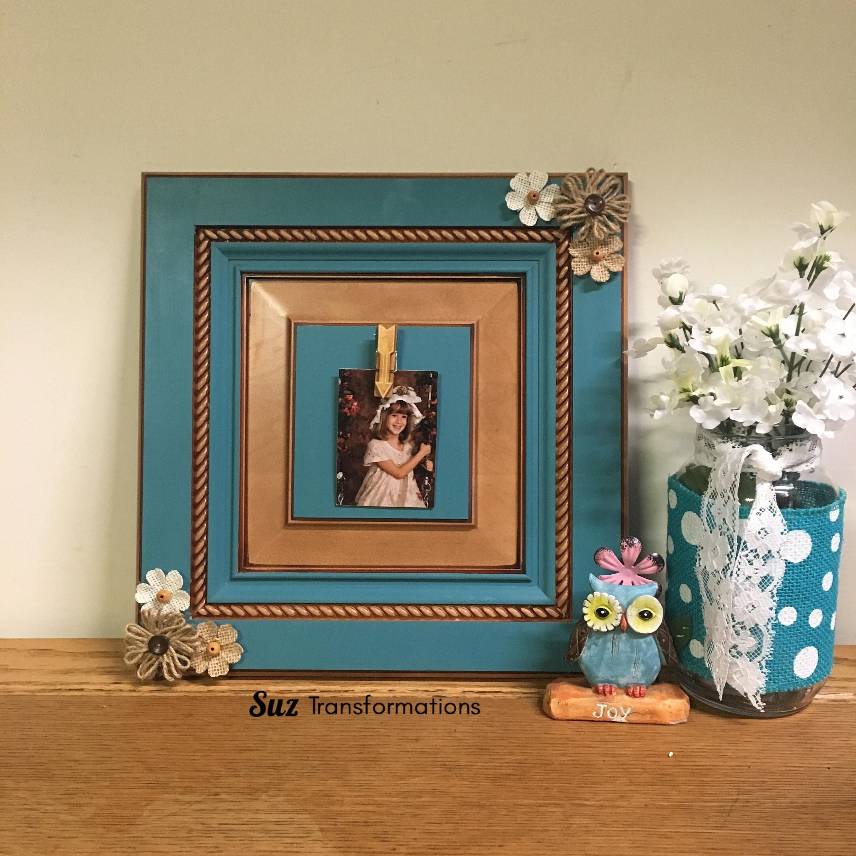Pic Clip Hinge Clothespin Decorative Turquoise Nautical Beach Country Western Picture Frame Memo Memorandum Board Western Picture Frames Picture Frames Decor