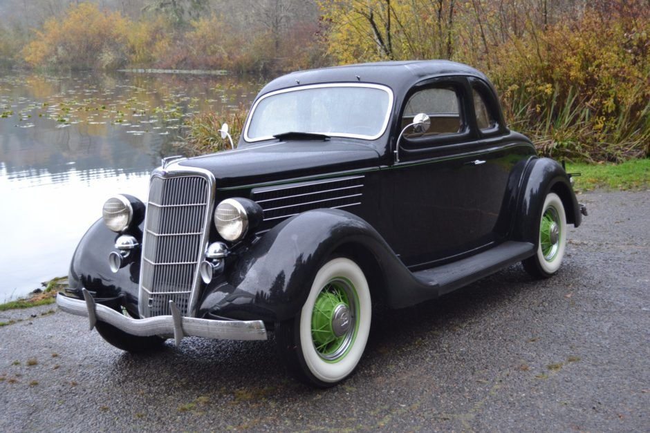 1935 Ford Model 48 Five Window Coupe W Rumble Seat Classic Cars