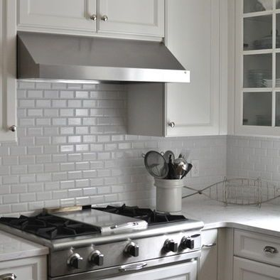 Grey Backsplash Tile Light Gray Subway Tile Backsplash Kitchen