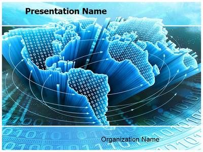 Free Modern Technology PowerPoint Template - SlideModel