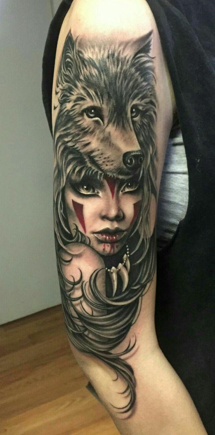 ▷ 1001 + ideas de tatuajes de lobos – diferentes diseños y su significado