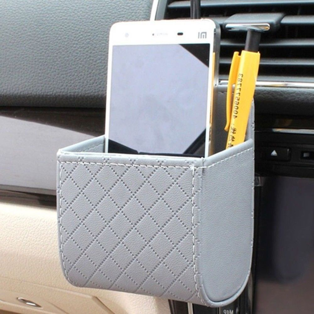 Details about Universal Auto Outlet Air Vent PU Leather