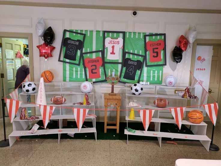 Image Result For Sports Room Decorations Vbs 2018
