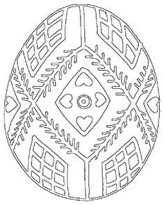 free coloring pages pysanky - Google Search | egg designs ...