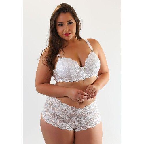 f2eacaeaa conjunto-lingerie-plus-size-compra-facil-lingerie-calesson-renda -Revenda-Foto-Modelo-Frente-Cor-Preto