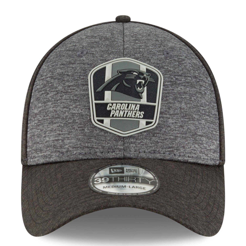 c065649b672 Adult New Era Carolina Panthers Sideline Team 39THIRTY Flex-Fit Cap   Panthers