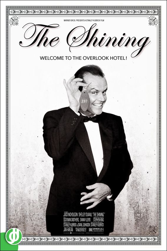 THE SHINING. Poster designed by Jidé.