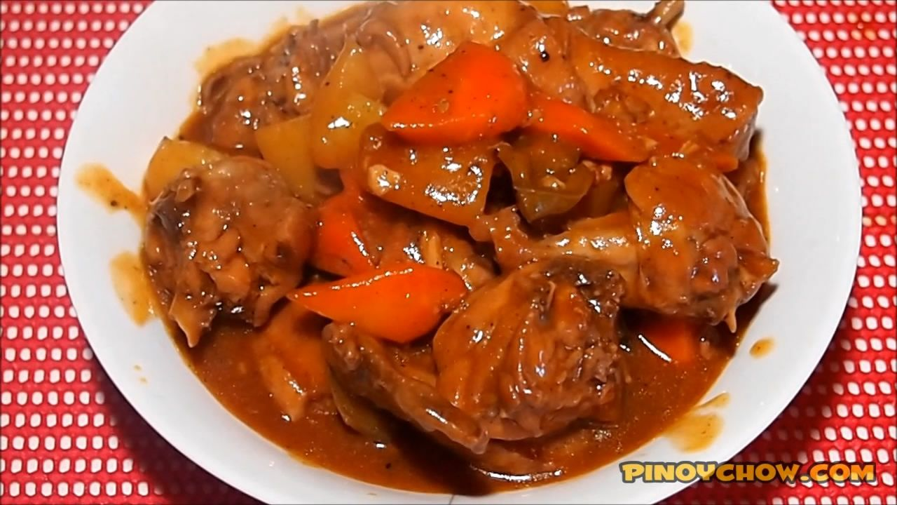Chicken afritada pinoychow filipino food recipe meats chicken afritada pinoychow filipino food recipe forumfinder Gallery