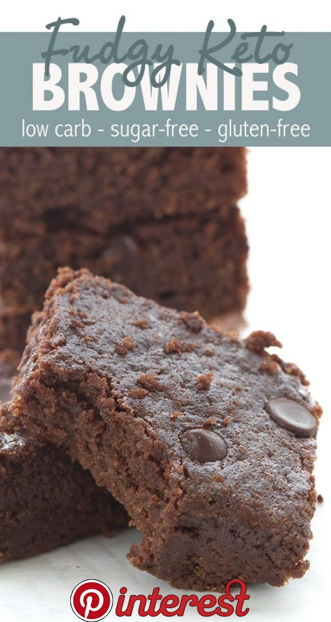 Fudgy Keto Brownies   These easy onebowl keto brownies have a secret ingredient to make them extra fudgy and chewy  This might just be the ultimate keto brownie recipe and no one can tell they are low carb and glutenfree! is part of Keto brownies -