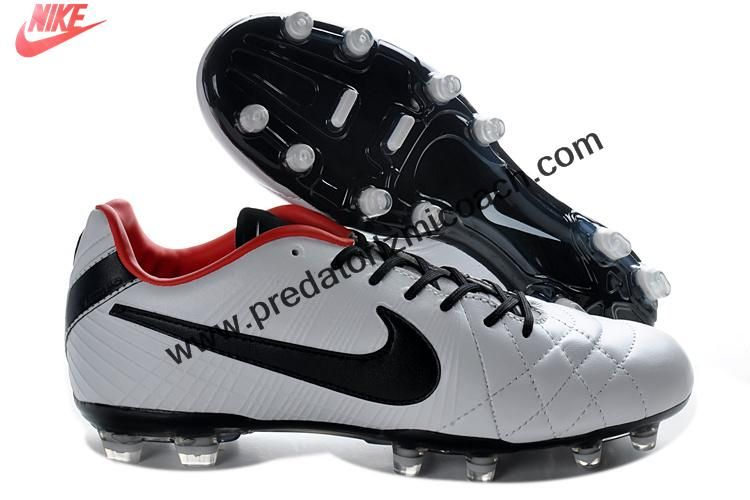 Latest Listing Nike Tiempo Legend IV Elite FG TPU - White black red  Football Boots Store