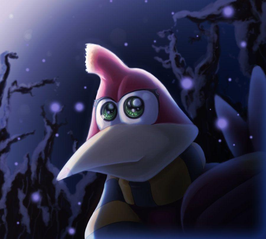 Winter In Click Clock Woods Banjo Kazooie Nintendo Fan Art Banjo