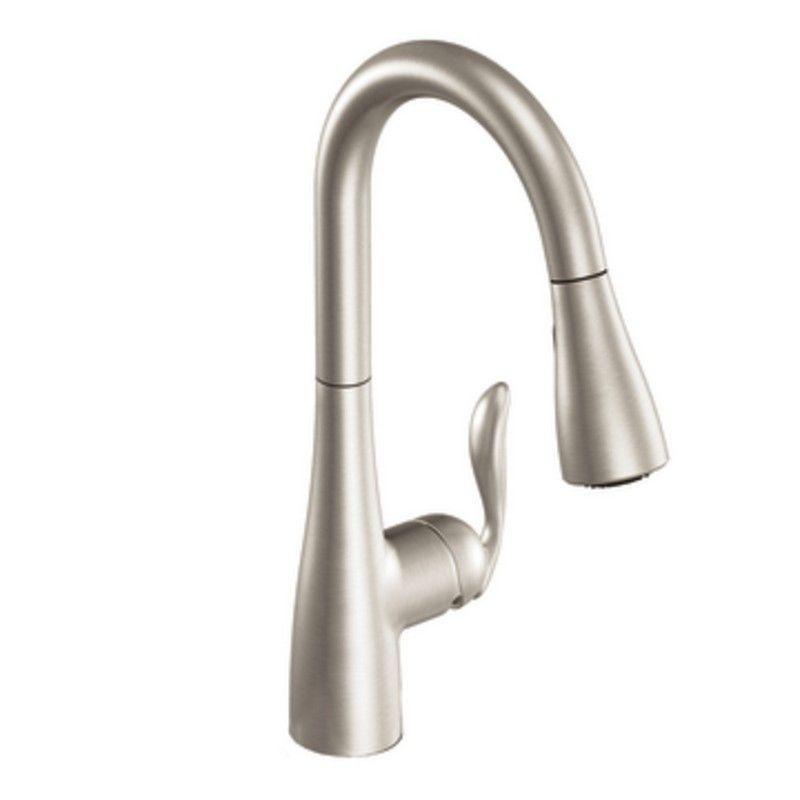 Moen Arbor Deck Mount Kitchen Faucet 7594srs Spot Resist Stainless
