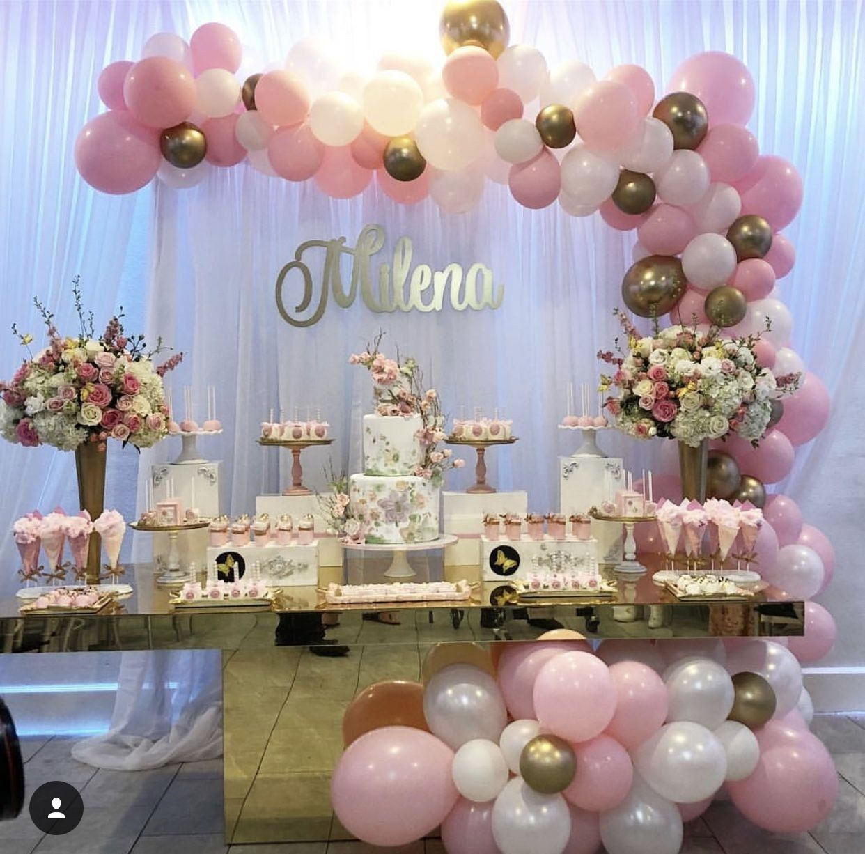 Baby Girl Shower Decoration Ideas New Pin by Jessie