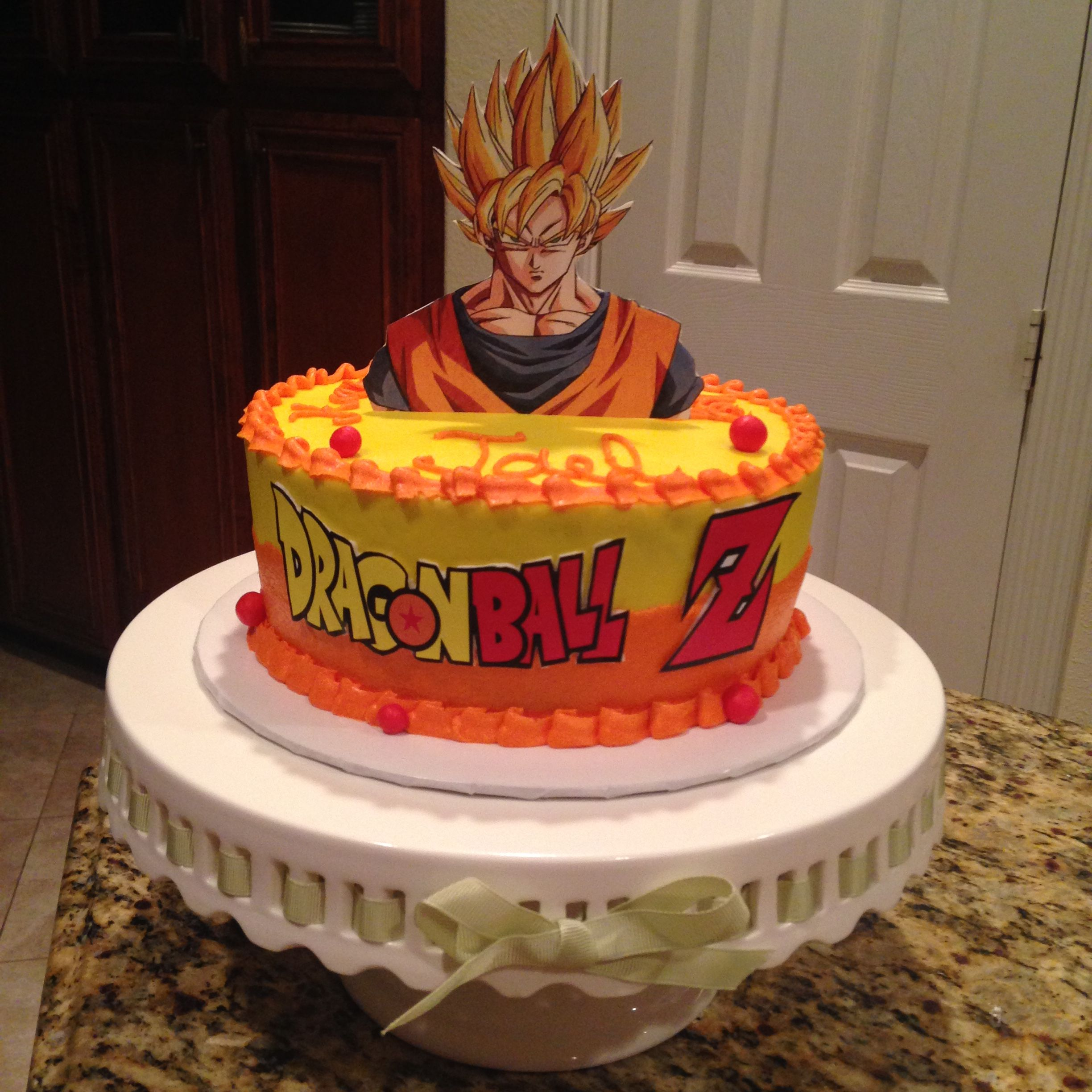 Dragonball Z Birthday Cake Https Www Facebook Com