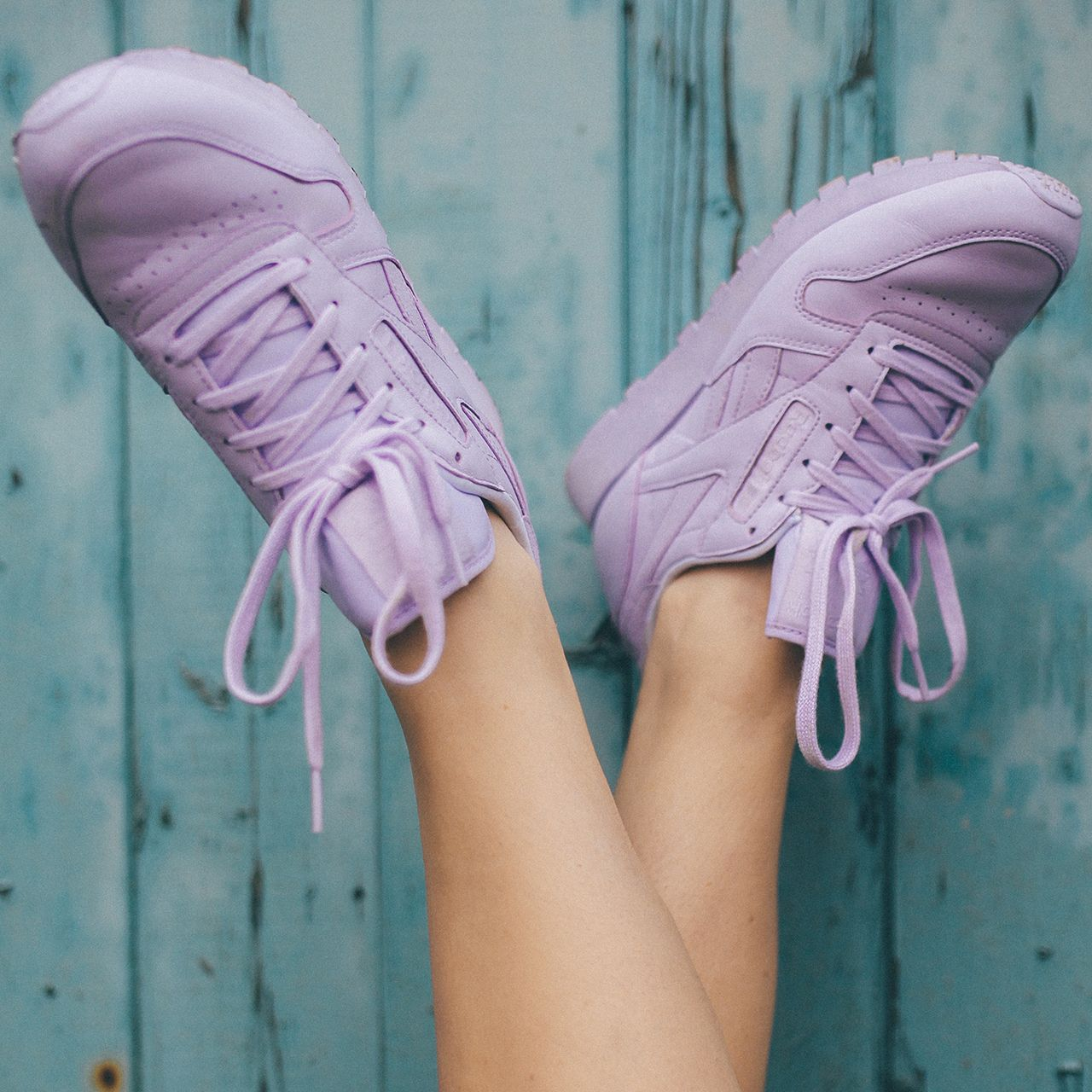 6e1c02884e1270 Pastel hues from the Women s Reebok Classics x Face Stockholm collection.  More styles available.