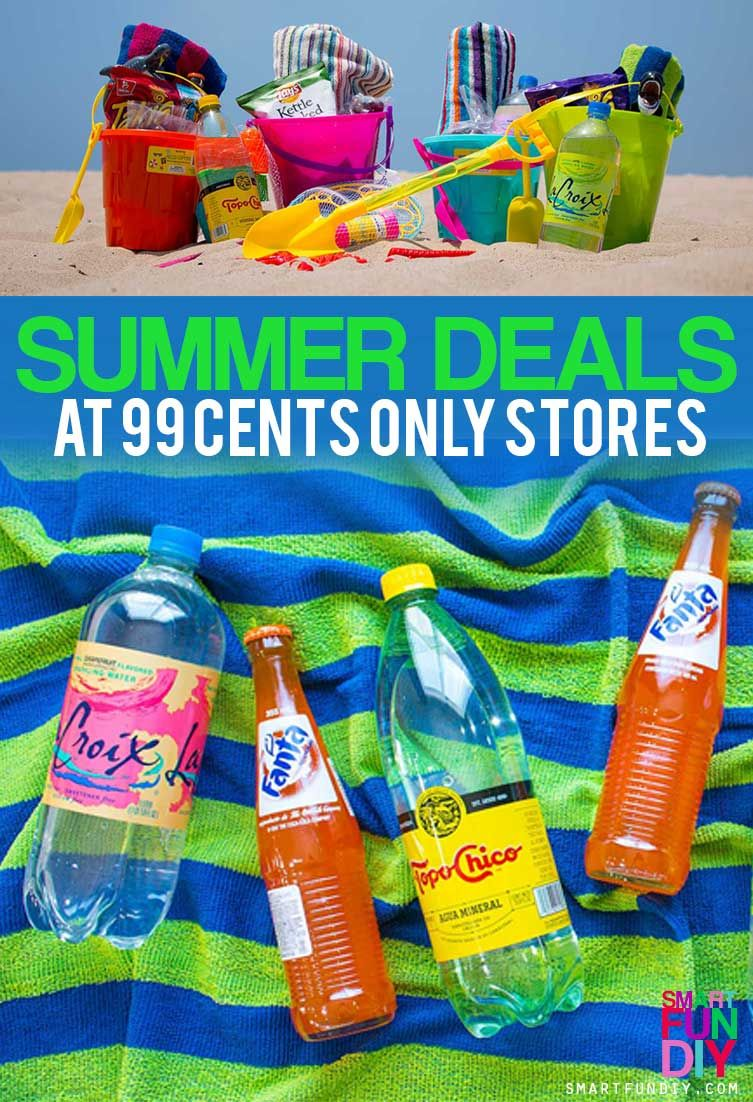 AD Beach On A Budget With 99 Cents Only Stores How To Pack