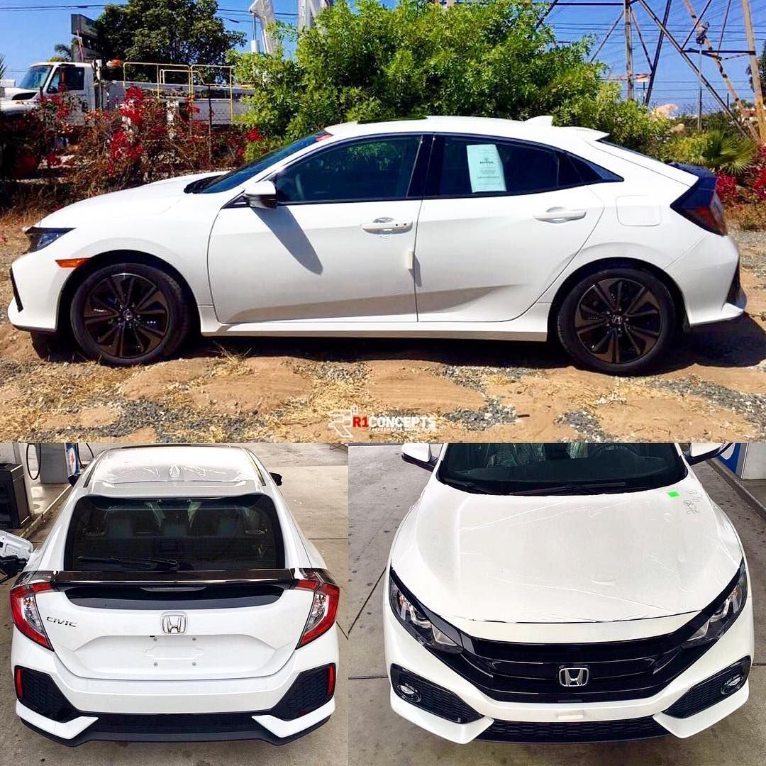 2017 Honda Civic Hatchback 1.5L Turbo with available 6