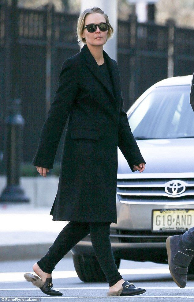 Lara Bingle wears $1095 fur Gucci loafers as she steps out
