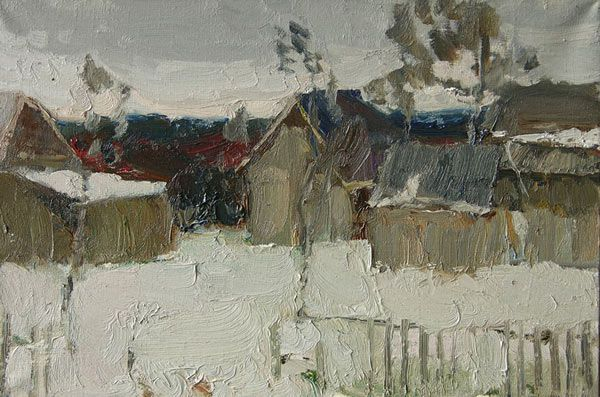 Morning Snow - Yuri Konstantinov