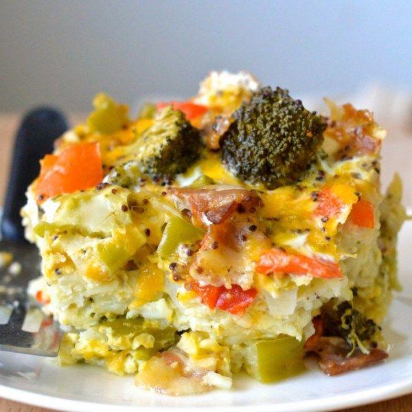 Breakfast Casserole Healthy: Healthy Crockpot Breakfast Casserole