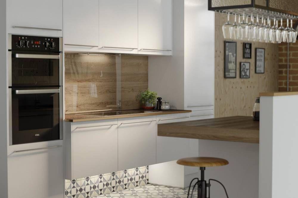 Autograph White Gloss - Infinity Range (Wren Kitchens)   Kitchens ...
