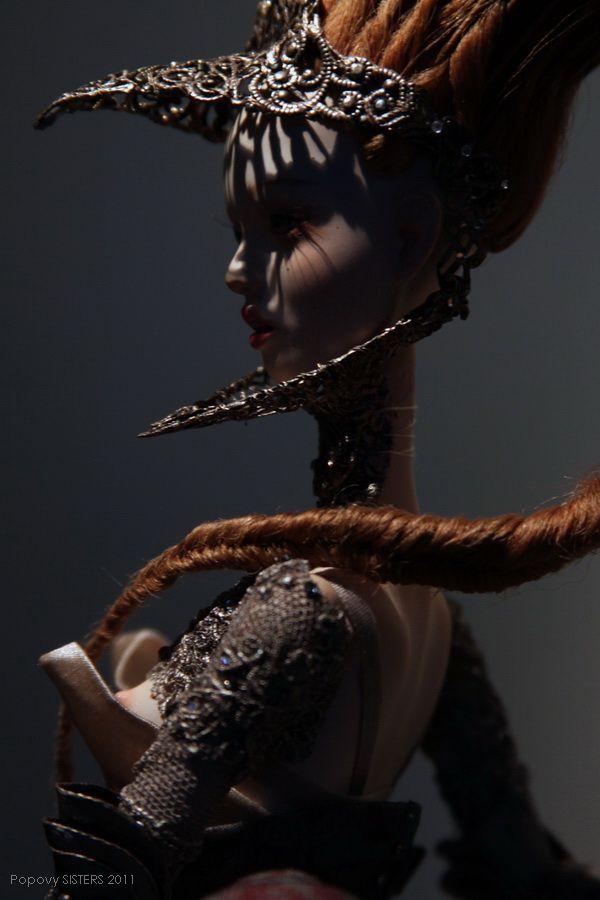 Garter - Popovy Sisters   Art dolls, Russian art dolls