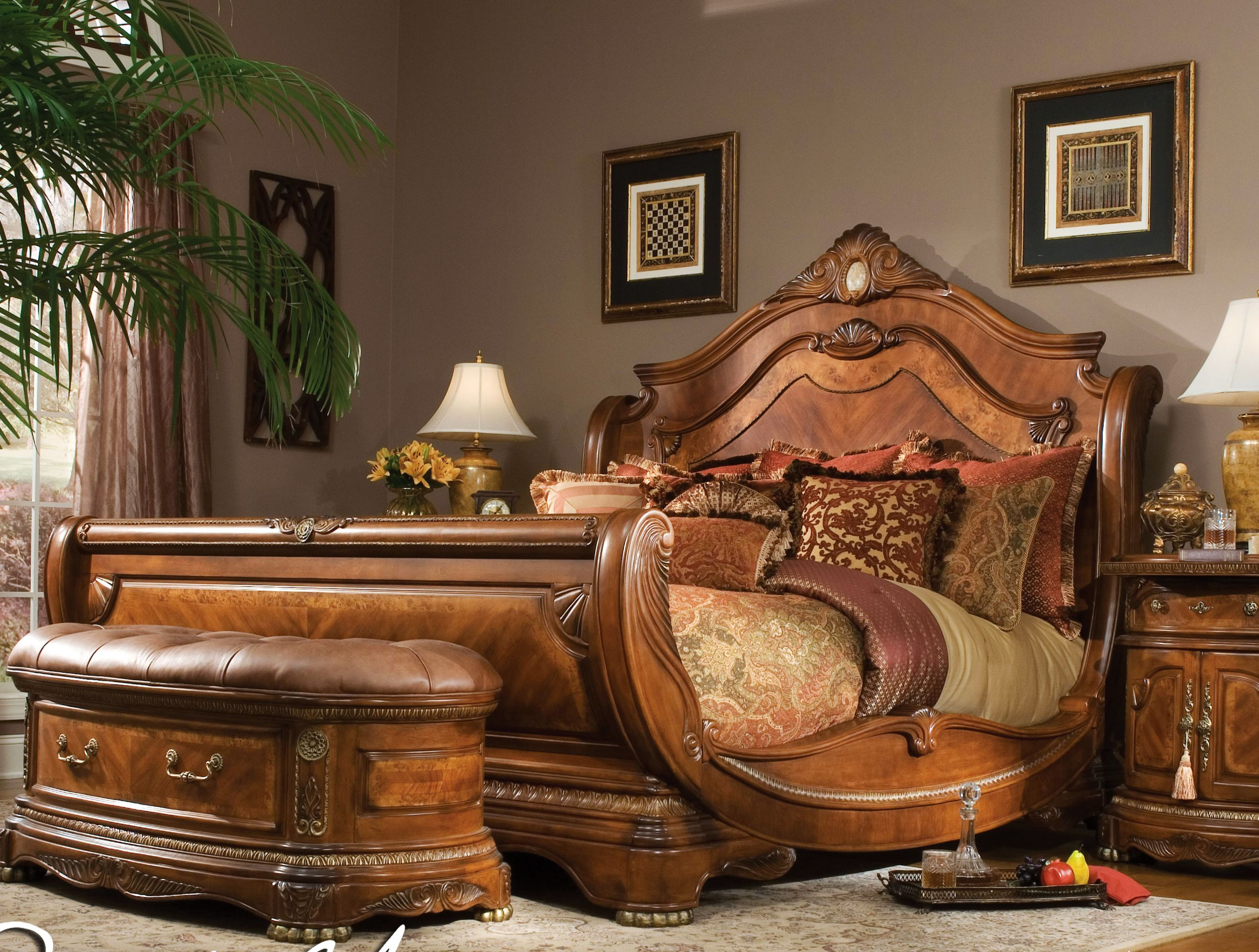 sleigh bed plans king size