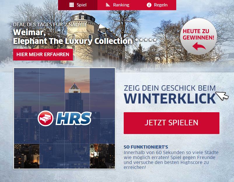 Weihnachten ist zwar schon vorbei - bei uns gibt es aber immer noch Geschenke: gewinnt den heutigen #hrsdeals #Weimar!