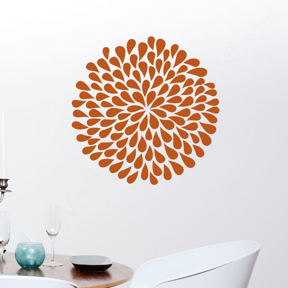 Poppy Flower Wall Decals Flower Wall Decals Wall Decals And Walls