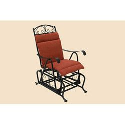 All Weather Single Glider Chair Outdoor Cushion