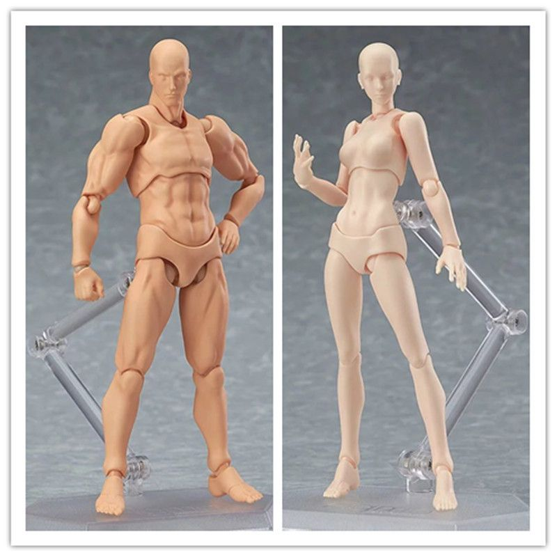 Art Reference Model Mannequin Sketch Figure Artist Movable Limbs