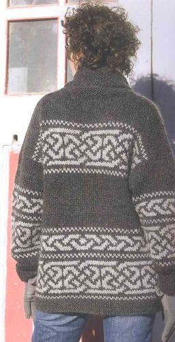 ef9187651e53 Northwest Celtic by Cheryl Oberle from Knitted Jackets  20 Designs from  Classic to Contemporary