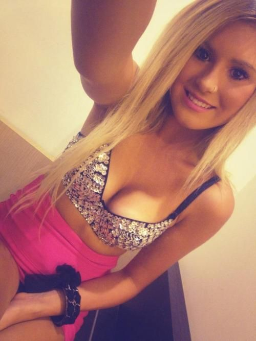 cute amateur blonde