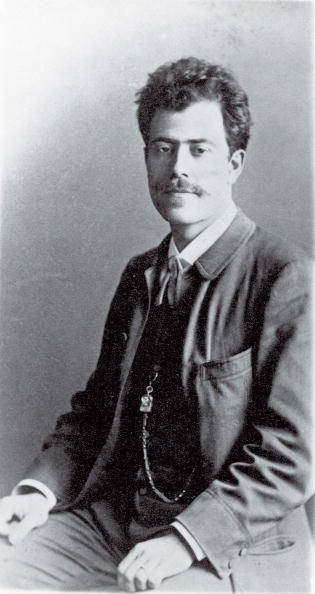 The Austrian composer Gustav Mahler  Prague  Photograph