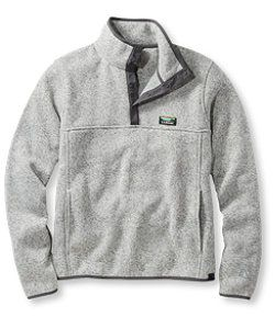 L.L.Bean Sweater Fleece Pullover $69 | Wardrobe Basics | Pinterest