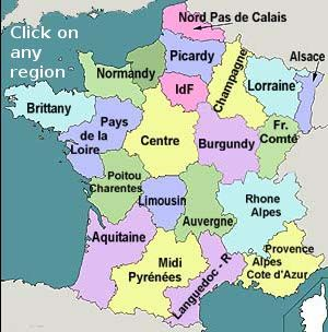 Map of France Educational Studies Pinterest France French