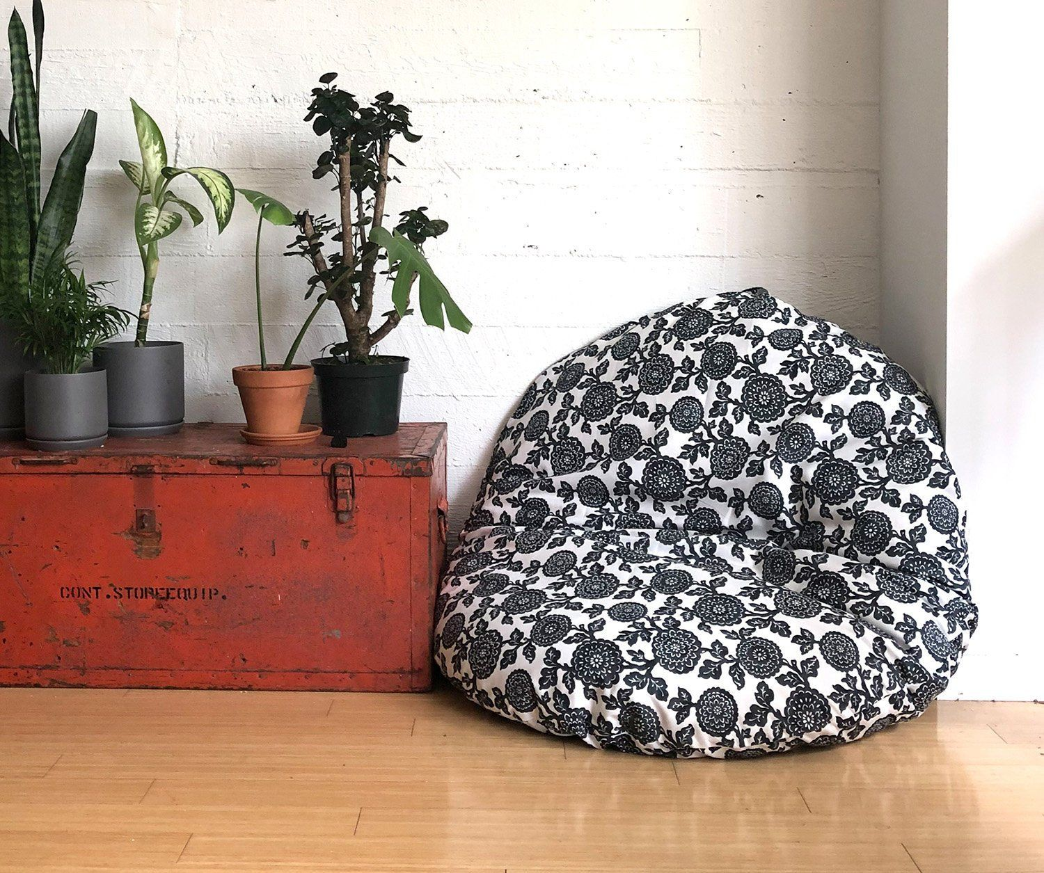 Floor Pouf Dog Bed Cover Dihult Slipcover Ikea Floor Pillow