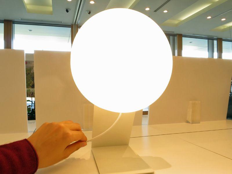 無印良品の「壁掛式LED照明」無印良品の「壁掛式LED